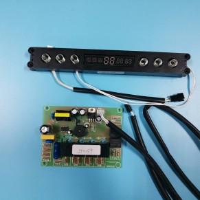 油烟机控制器开关ZTS159翻板升降 带商标显示